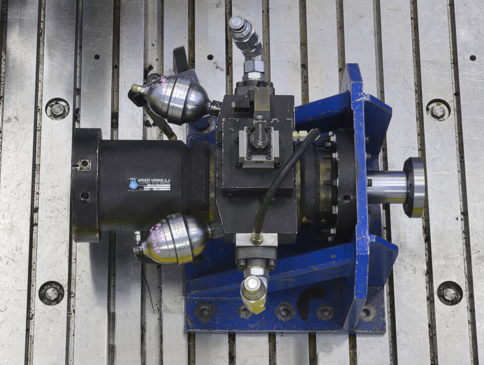 plateforme verins hydrauliques