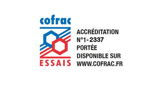 Accreditation COFRAC