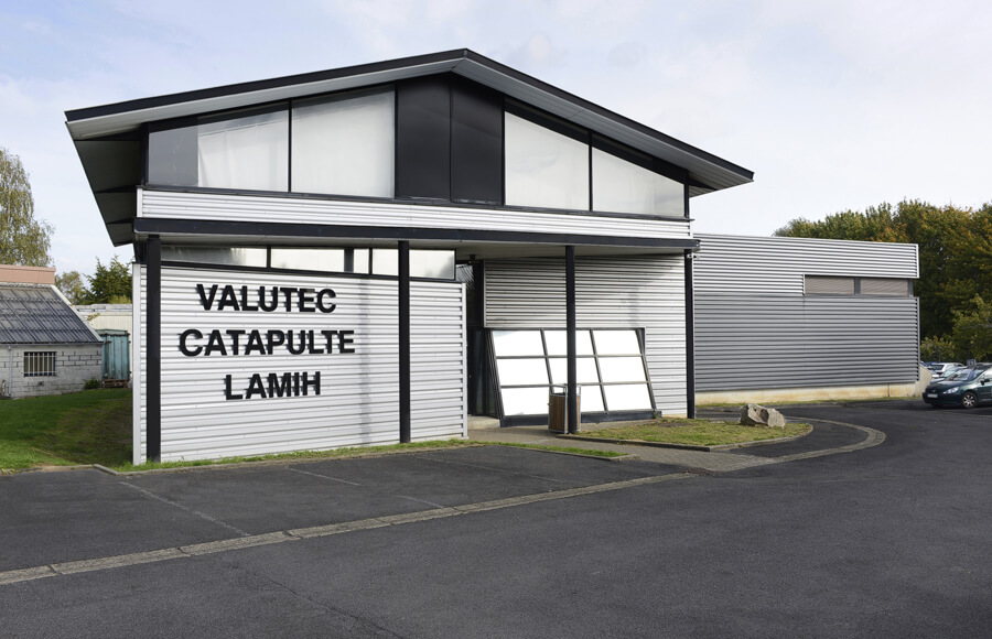 Valutec catapulte LAMIH